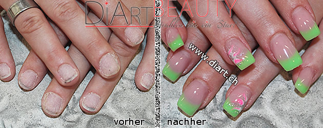before after nails vorher nachher nägel nailstyle nailart